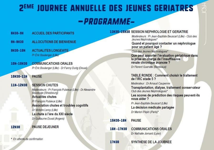 Programme jajg 2020